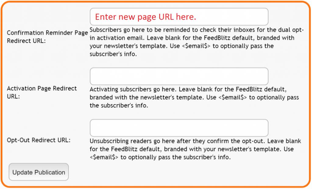 Feedblitz llc how can i customize the full subscriptio default activation email maxwellsz