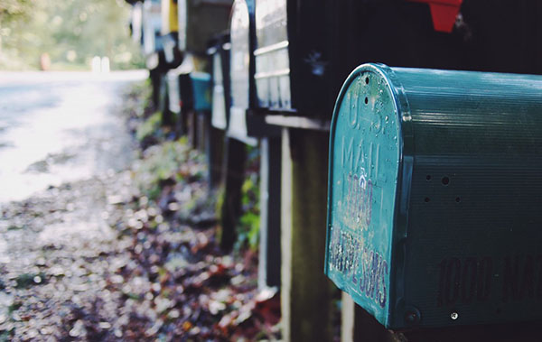 Mailboxes visually representing autoresponders