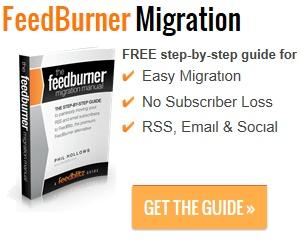 Get the free FeedBurner Migration Guide e-book