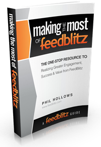Click to download the 'Making the Most of FeedBlitz' e-book
